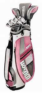 WILSON HOPE PLATINUM Womens Ladies Golf Club Set w/ Bag | eBay