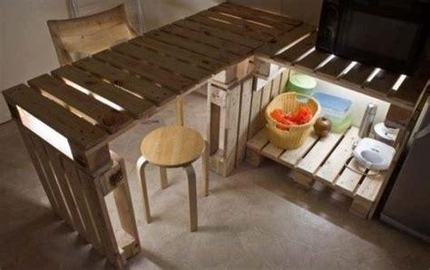 construire ilot central cuisine móveis de paletes 84 ideias incríveis e passo a passo