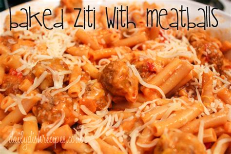 baked ziti with meatballs baked ziti with meatballs easy cheesy delicious crazed mom lifestyle and recipes