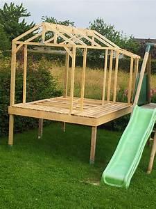 Cabane En Bois De Jardin : construire une cabane de jardin en bois construire une ~ Dailycaller-alerts.com Idées de Décoration