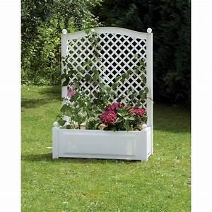 Jardinière Brise Vue : jardini re avec treillis achat vente jardini re pot ~ Premium-room.com Idées de Décoration