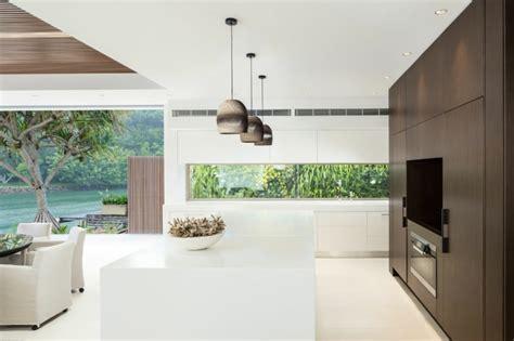 cuisine d architecte l élégance et le style contemporain d une maison d
