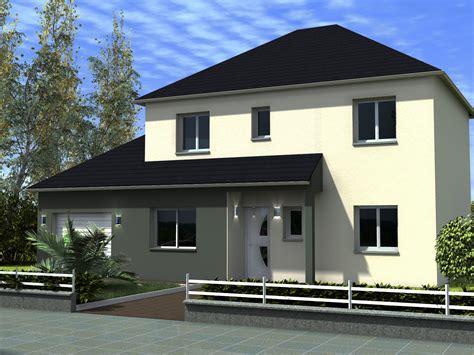 plan maison bois plain pied 4 chambres maison r 1 mandalore maisons lg