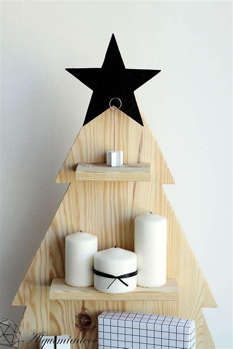 diy arbol de navidad de madera alquimia deco