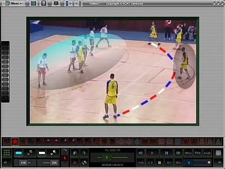 omega sport video motion analysis