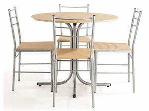 ensemble table et chaises de cuisine spoon chez conforama With ensemble table chaises cuisine