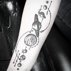 65+ Facinating Solar System Tattoo Designs - Their Origin ...