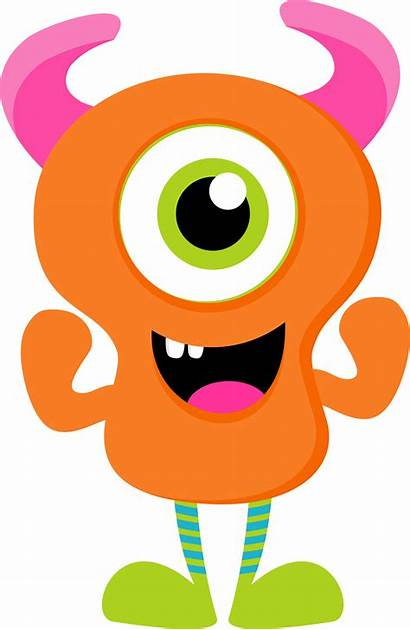 Monster Clipart Monstruos Monsters Inc Orange Clip