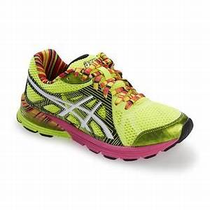 ASICS Women s GEL Preleus Neon Yellow Black Striped