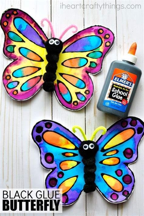 25 best ideas about butterfly crafts on paper 290 | b61a33980f03fad938e51c1477ee43aa