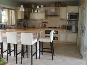 ikea table cuisine bois cuisine en image