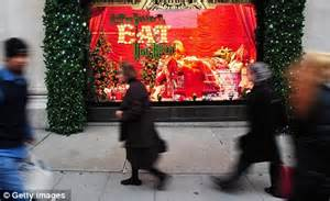 Selfridges and Harrods prepare to open their Christmas