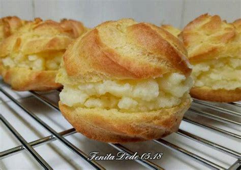 Coba buat puding buah yang terlihat cantik, dan makin nikmat karena disiram saus vla. Resep Choux Pastry / Soes / Sus Vla Durian oleh Fenita D2 - Cookpad