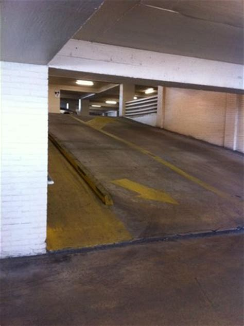 Parking Garage Ramp  Steep, But Navigable  Picture Of