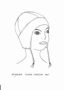 search results for free printable fleece hat sewing With fleece hat template