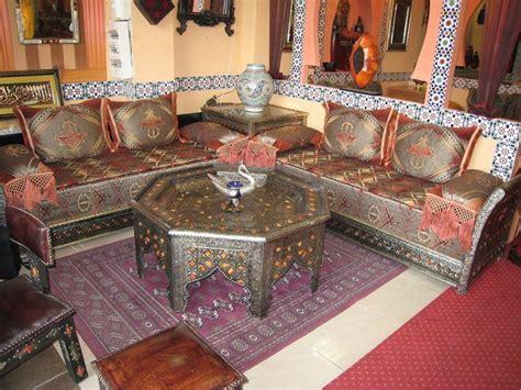 salon canapé marocain salon marocain moderne marseille