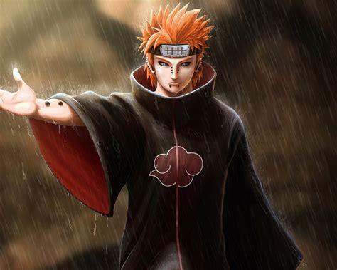 1280x1024 Pain, Art, Naruto, Hand, Bandana, Guy, Piercing