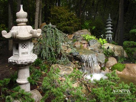 japanese lanterns asian garden statues and yard