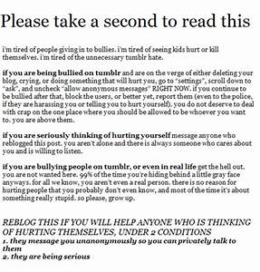 Suicide Awareness Tumblr