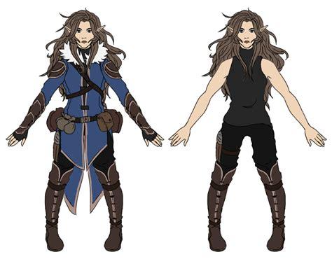 Susan's Posts • My Dnd Character, Xyrana The Half-elf