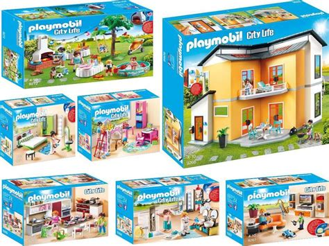 Modernes Haus Playmobil by Playmobil 9266 9272 Moderne Maison Complet Set Neuf