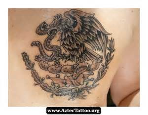 Mexican Aztec Eagle Tattoo