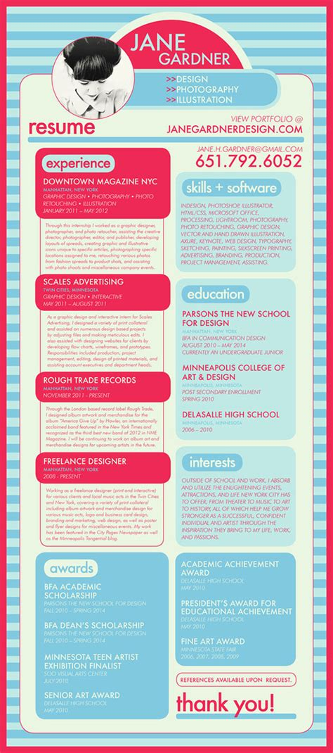Amazing Graphic Designer Resume by Amazing Graphic Design Resume Exles To Attract Employers
