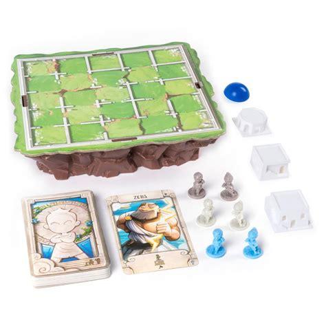 santorini strategy based board game  kids spin