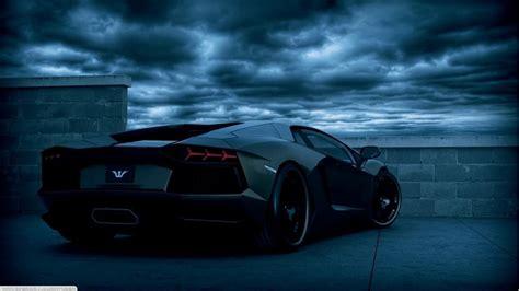 Black And Blue Car Wallpaper Hd by Black And Blue Lamborghini 5 Widescreen Wallpaper
