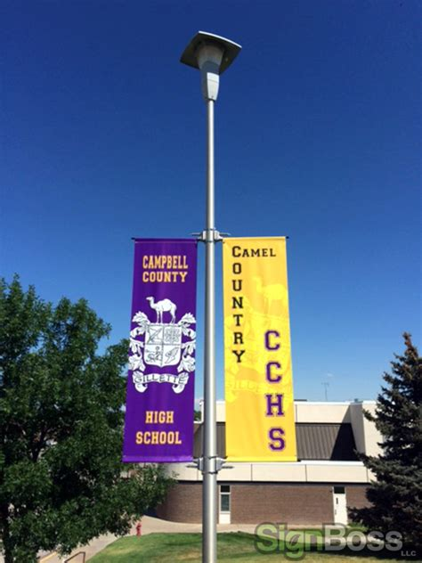 light pole banners pole banners show your colors celebrate and advertise