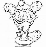 Sandwich Coloring Ice Cream Pages Getdrawings Printable Getcolorings sketch template