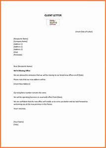 6 change of address notice template notice letter With change of address notification letter template