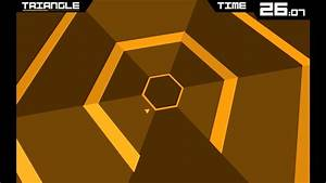 Super Hexagon Level 1 Complete