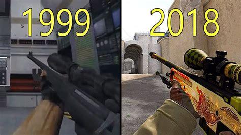 evolution of counter strike 1999 2018