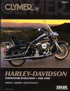 Harley Flh Flt Fxr Evo Glide Service Repair Manual