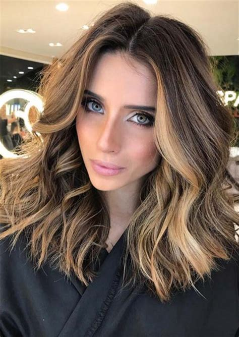medium hairstyles shoulder length haircuts  women   glowsly