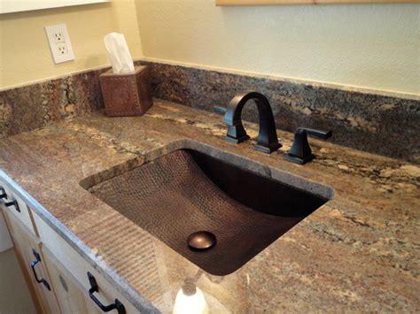 Copper Sink Installations-traditional-bathroom-los