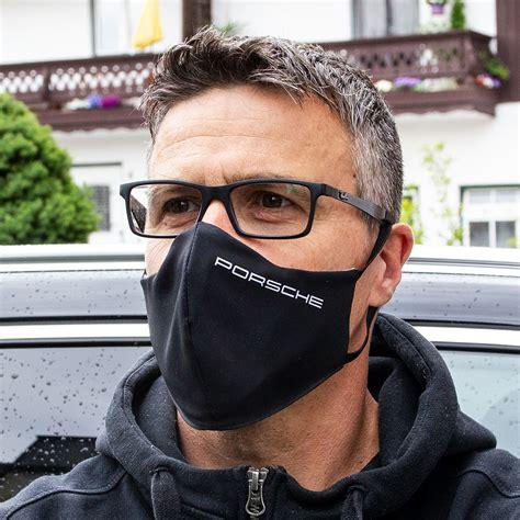 Zweilagige bedruckte Mund- und Nasenmaske als Werbeartikel ...