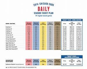 Cubs 39 2014 Season Ticket Pricing Same Old Same Old
