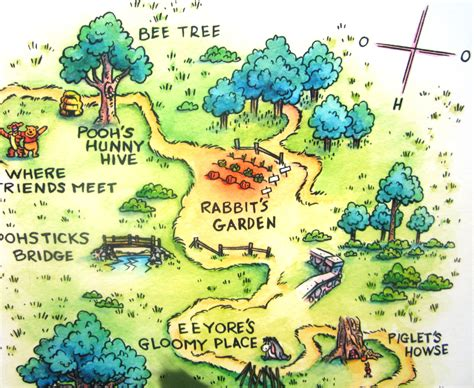 The Hundred Acre Woods, From The Winnie The Pooh Book's