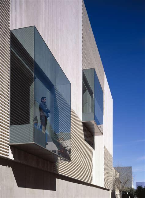 glass architecture facade andalusian windows box biotechnology institute architect seville building archello architizer architektur boxes facades interior project umuzi dirtbin