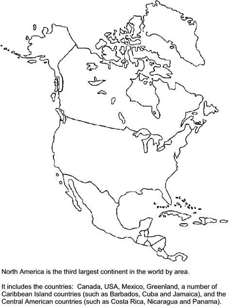 printable northamerica countries coloring pages coloringpagebookcom