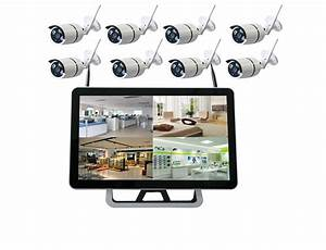 China Cctv System 1080p 8ch Hd Wireless Nvr Kit Outdoor Ir