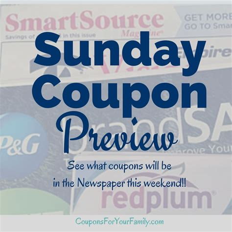 19933 Redplum Coupons Sunday Paper 71 best images about coupon resources on