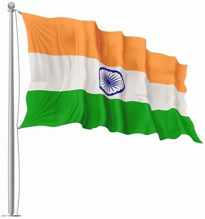 Flag India Waving National Clipart Indian Transparent