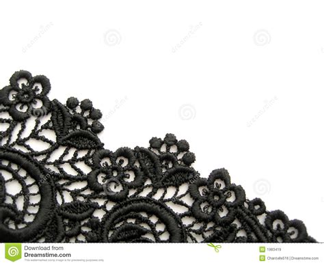 Black Stock Images Black Lace Royalty Free Stock Images Image 1983419