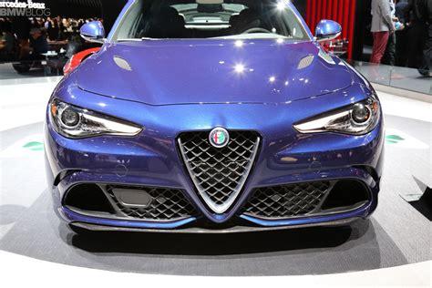 Us-bound Alfa Romeo Giulia Hits 2015 La Auto Show