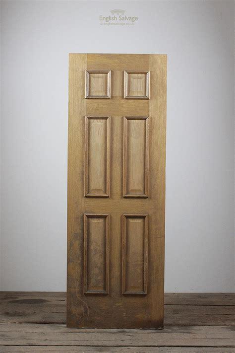 reclaimed oak veneer  panel door