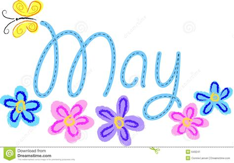 May Images May Calendar Heading Clipart Clipground