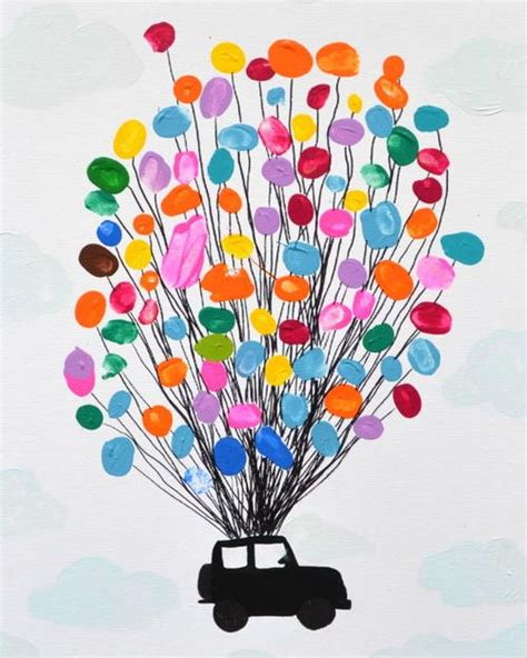 Thumbprint Art For Kids Allfreekidscraftscom